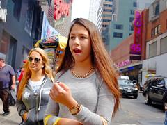New York Street Scenes (Steven Pisano) Tags: street city urban newyork manhattan candid timessquare