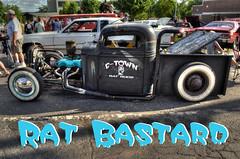 Rat Bastard (rvw1979) Tags: car photoshop nikon rat rod bastard hdr carshow ratrod nikond5100
