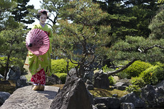 Maiko Fukunae (Japanexperterna.se) Tags: japan garden kyoto maiko geiko geisha    gion