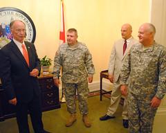 08-07-2014 Pinning Ceremony for Maj. Gen. Lyn Gable