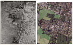 Heiloo in 1945 en 2014