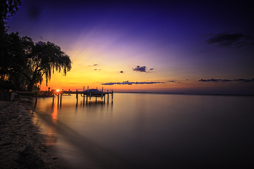 """Lake St. Clair Sunset Long Exposure • <a style=""""font-size:0.8em;"""" href=""""http://www.flickr.com/photos/76866446@N07/14677103846/"""" target=""""_blank"""">View on Flickr</a>"""