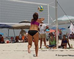 Gulf Shores Beach Volleyball Tournament (Garagewerks) Tags: woman beach girl sport female court sand all child gulf sony sigma tournament volleyball shores 50500mm views50 views100 views200 views150 f4563 slta77v