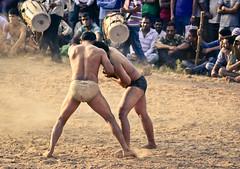 Indian wrestling | Kusthi | the tussle ([s e l v i n]) Tags: india men sports fight village muscle wrestling battle fighting punjab combat wrestle indianmen kushti indianwrestling pehlwan selvin indiankushtiwrestling