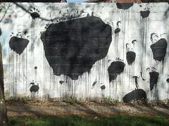 Big Bang (David de la Mano) Tags: streetart mural montevideo 2012 daviddelamano