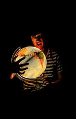 Aupo (Cyril Lescot) Tags: boy paris globe nikon autoportrait earth teen terre jeune 2014 d5100