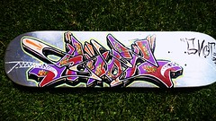 Bordem series. 1 of 4. (Snot420) Tags: africa southafrica graffiti board south bored 420 chrome skate skateboard snot cracked