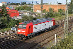 E-loc 146 023-7(Emmerich 19-8-2014) (Ronnie Venhorst) Tags: railroad station train canon deutschland eos rebel br reclame d 5 eisenbahn rail railway zug bahnhof db railwaystation loc t3 bahn 023 trein spoor duitsland deutsche 1100 spoorwegen lok vorne 146 2014 regionalexpress spoorweg emmerich rijtuig elok re5 damit regionalbahn eloc baureihe emmerik bleib br146 rijtuigen 1100d materieel eos1100d spoormaterieel eos1100
