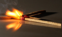 Matches (Ricardo Yubal) Tags: light fire smoke explosion matches effect highspeed