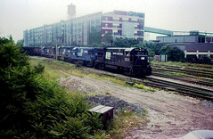 BEND TOWER (rrradioman) Tags: tower bend south central indiana august penn studebaker 1977 cr conrail
