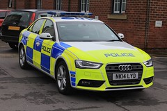 Northumbria Police Audi A4 Quattro Roads Policing Unit Traffic Car (PFB-999) Tags: car lights mirror traffic wing police northumbria vehicle leds roads a4 audi saloon grilles unit quattro houghtonlespring rpu lightbar policing fendoffs nk14lyd