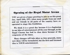 "Regal Motor Museum Brochure 2 • <a style=""font-size:0.8em;"" href=""http://www.flickr.com/photos/124804883@N07/14840170353/"" target=""_blank"">View on Flickr</a>"