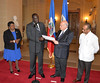 New Ambassador of Haiti to the OAS Presents Credentials