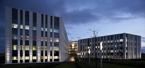 Scottish Crime Campus by Ryder Architecture and BMJ Architects (as Joint Venture)