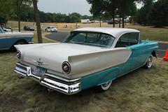 1957 Ford Fairlane (DVS1mn) Tags: new london car brighton antique run era brass brassera newlondontonewbrighton nlnb nlnbacr 28thannualnewlondontonewbrightonantiquecarrun