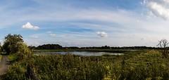 Schöne Aussichten (Tobi Sp) Tags: sky panorama clouds canon landscape eos natur himmel orte tamron seen landschaft münster weitwinkel rieselfelder vogelschutzgebiet 70d 1024mm rieselfeldermünster