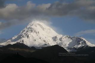 Stepantsminda, Mount Kazbek