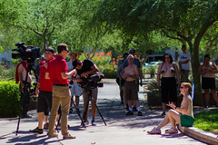 GoTopless Day Phoenix, AZ (Matthew R photography) Tags: arizona people phoenix candid streetphotography az event 2014 steeleindianschoolpark gotoplessday matthewredmond