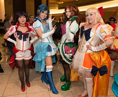 Sailor Scouts (Courtarro) Tags: atlanta anime building hotel cosplay event sailormoon dragoncon marriottmarquis sailorscout dragoncon2014