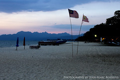 Bye Bye Langkawi... (jean-marc rosseels) Tags: sunset sea sky color beach colors canon sand ngc malaysia langkawi canon7d jeanmarcrosseels