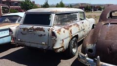 '55 Chevy Sedan Delivery (twm1340) Tags: street arizona classic chevrolet 1955 car sedan panel az chevy cottonwood delivery rod aug 2014