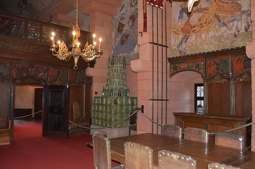 Le château du Haut-Koenigsbourg.La salle du Kaiser.6