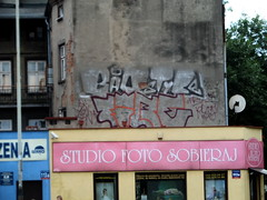 Graffiti Poland Lodz (DGraffiti) Tags: street art graffiti paint poland polska polen lodz