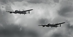 Aces High (Explored) (Neil W2011) Tags: airshow lancaster bomber essex clacton battleofbritain
