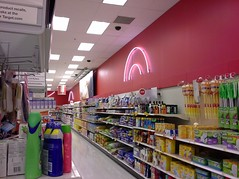 More neon on the wall: cleaning supplies at front northwest corner (l_dawg2000) Tags: 2004 retail store closed neon memphis tennessee departmentstore target bullseye closing 2000s southwind discountstore gardenridge targetshoppingcenter neondecor futuregardenridge