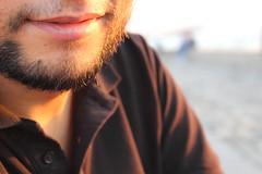 """""""Smile"""" (alar TRKMEN) Tags: black smile closeup canon mouth beard sakal siyah gulumseme yakinplan eos600d rebelt3i"""