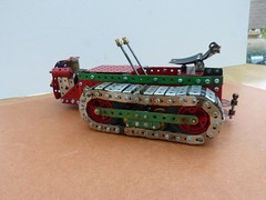 Ransomes MG crawler tractor  2 (Elsie esq.) Tags: model meccano crawler mg2 ransomes