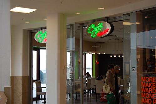 Cafe Gränden neonskylt
