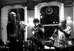 Jazz at the Victoria Leeds August 2014BW (rambler31) Tags: mono blackwhite yorkshire leeds jazz nightlife