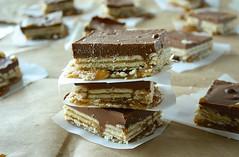 Salt River Bars (theblondeintheapron) Tags: dessert treats desserts sweets dessertrecipes dessertrecipe saltysweet saltriverbars saltriverbar saltriverbarrecipe