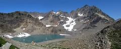 Mount Anderson Panorama (Mike Dole) Tags: washingtonstate olympicnationalpark honeymoonmeadows mountanderson westforkdosewallipsriver