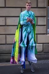 Caped Bocker (MalB) Tags: festival scotland edinburgh pentax fringe royalmile sonics lycra bock k5 bulge bocking duum