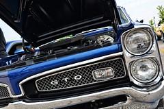 Pontiac GTO (Chad Horwedel) Tags: blue classic car illinois goat pontiac gto naperville pontiacgto memorialdaycarshow