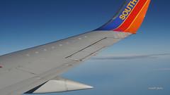 Beautiful Blue Sky (Zachoff1) Tags: sony southwestairlines minoltaaf50mmf28macro laea1 nex6 sonynex6