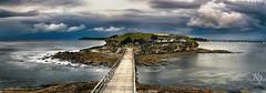 Island (kurianjosephphotography) Tags: morning bridge seascape weather island amazing rocks moody cloudy sydney australia panaorama laperouse bareisland rockshelf