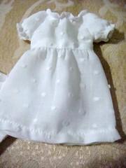 Blythe new white Raglan dress
