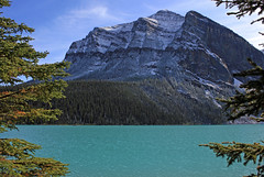 Down by the Lake (JB by the Sea) Tags: canada rockies alberta banff rockymountains lakelouise banffnationalpark canadianrockies september2014