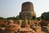 Sarnarth, One of the Four Holy Sites of Buddhism (wandervox) Tags: india nikon buddha buddhist monk buddhism holy varanasi enlightenment dharma pilgrimage ganges uttarpradesh 2470 gautama dhamekhstupa d700 sarnarth dhamekstupa