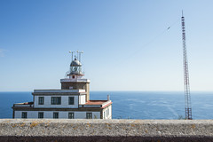 galicia rural2 (isac babel) Tags: ocean sea lighthouse rural faro spain galicia phare antenna fisterra