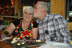 Love you too (Sim-tov) Tags: vacation portrait holiday restaurant golden bay la inn bc anniversary celebration meal cox tofino pointe aug bubbe 2014 zaide wickannish