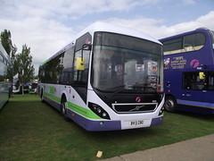 69909 (BV13ZBO) 21-09-2014 Duxford Showbus.1 (routemaster2217) Tags: transport duxford imperialwarmuseum iwm showbus2014