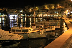 Es Castell night time 1 (Steve Dawson.) Tags: holiday night canon boats eos is spain mediterranean harbour september espana usm ef28135mm 8th menorca minorca 2014 balearicislands escastell f3556 50d ef28135mmf3556isusm canoneos50d spainishislands