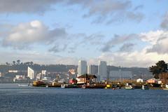 Puerto Montt desde Isla Tenglo
