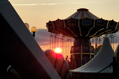 Wildwood Sunset (matthew_thomas_) Tags: ocean park new carnival sunset summer beach water wheel photography newjersey sand flickr fireworks piers nj ferris shore jersey boardwalk ferriswheel amusementpark rides wildwood jerseyshore waterpark moreys wildwoodnj moreyspiers tumblr