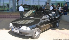 Citron AX 11 TRE Cabriolet 1989 (XBXG) Tags: auto old france classic car germany french deutschland automobile convertible citron 2006 11 voiture 1989 frankrijk ax tre cabrio allemagne duitsland ancienne roadster cabriolet franaise rheinberg citrorama citronax cocax89