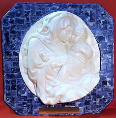 Fuga in Egitto (sajgio) Tags: sodalite mosaico marmo colori iacopodellaquercia sanpetronio bologna portamagna calco sergiorodella tessere seno gesùbambino